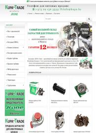 портфолио создание интернет сайта компании Kupa